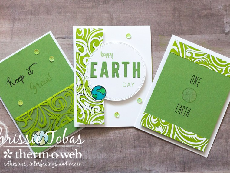 Earth Day Gina K Designs Cards