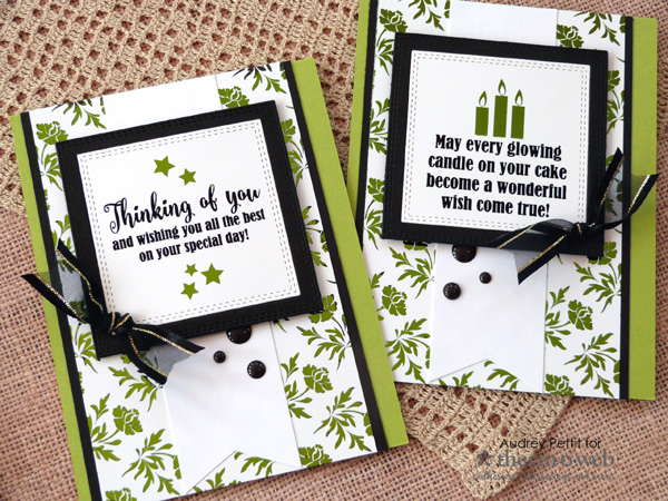 Gina K Designs Birthday Cards by Audrey Pettit