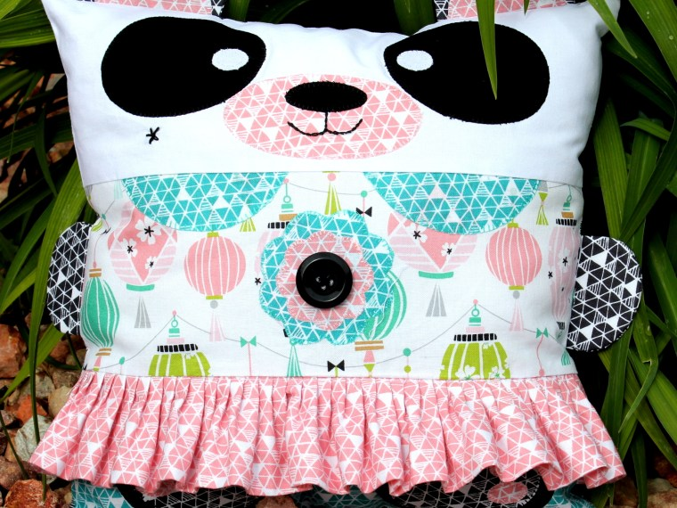 Carol Swift Panda Pillow