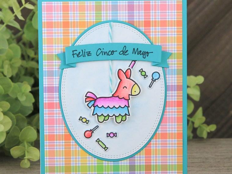 Feliz Cinco de Mayo Card by Juliana Michaels featuring Therm O Web adheisives