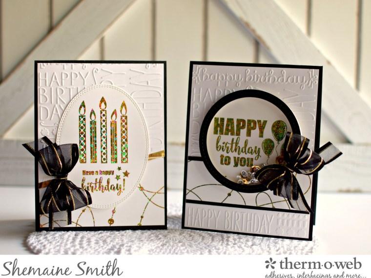 Gina K Designs Foil-Mates Cards with deco foil