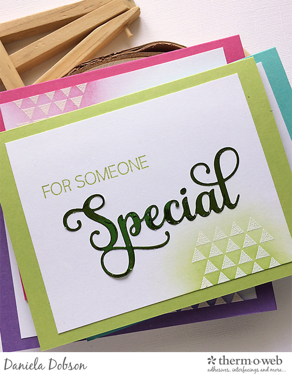 Thank you card set close 2 by Daniela Dobson