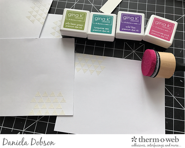 Thank you card set step 2 by Daniela Dobson