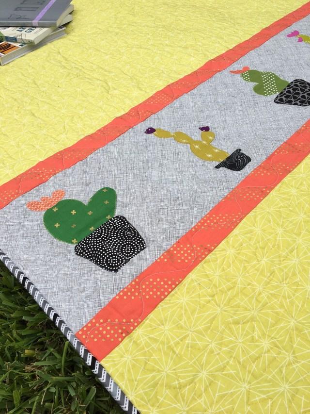 Cactus Quilt Featuring SpraynBond