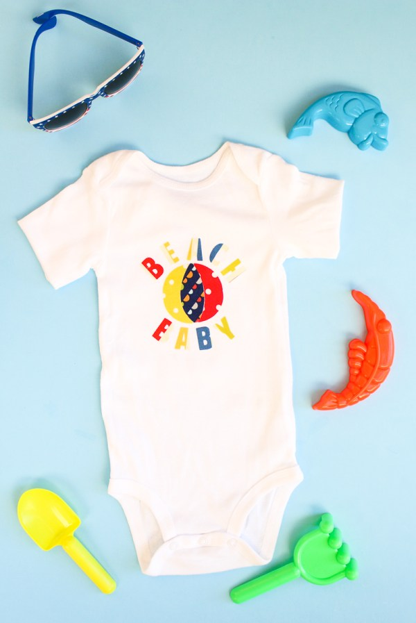 Heat N Bond Baby Onesie Tutorial   www.blog.thermoweb.com