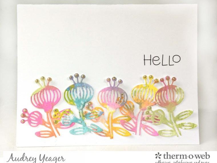 Hello Gina K Designs Watercolor Card