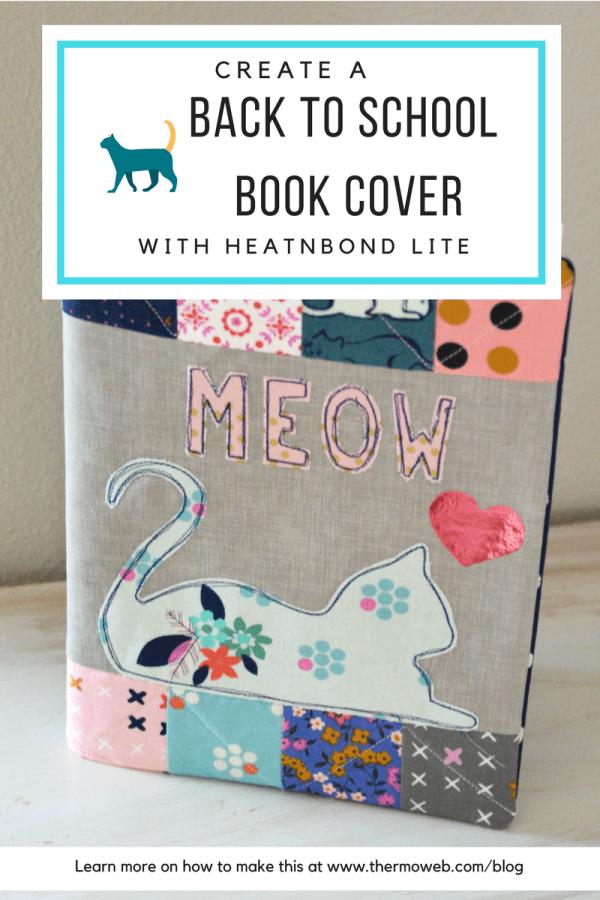 Amanda Niederhauser Book Cover made with HeatnBond Lite