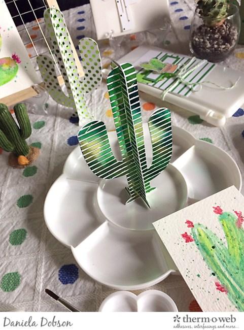 Deco Foil paint party 03 by Daniela Dobson