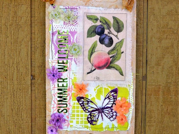 Mix it Up Summer Welcome Banner