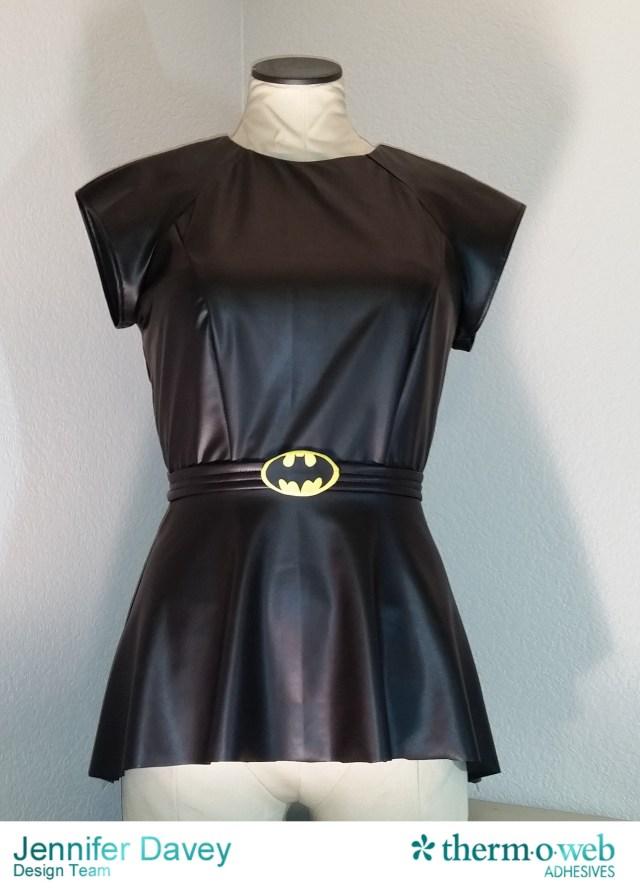 Batgirl HeatnBond Cosplay Halloween Outfit