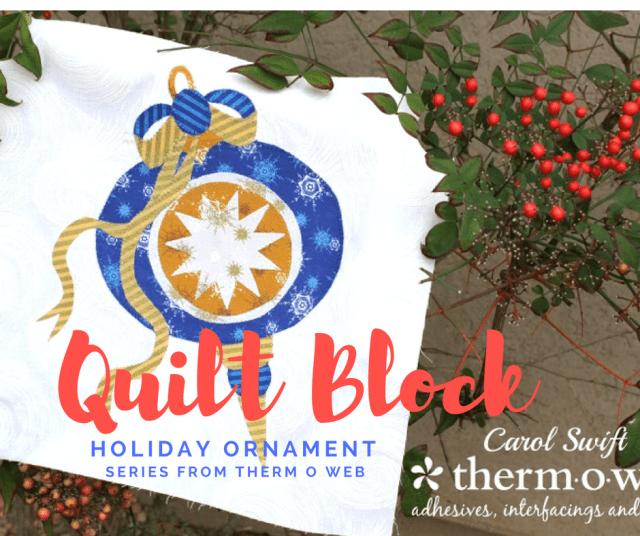 Christmas Ornament Quilt Block Series