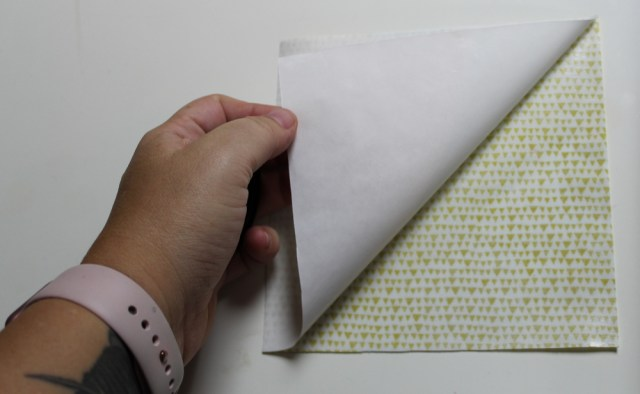 peel off fusible