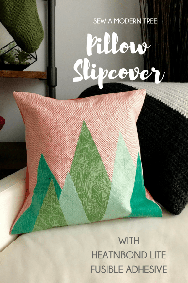 Modern Tree Pillow Slipcover