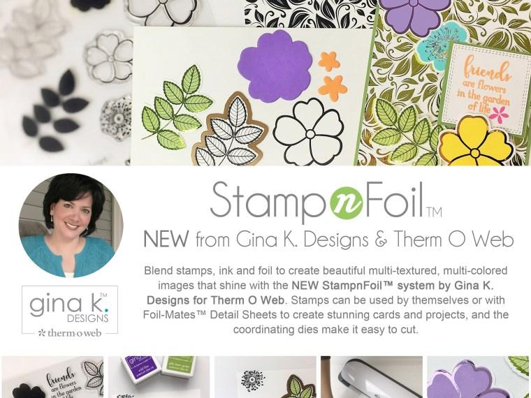 Gina K Designs StampnFoil Collection