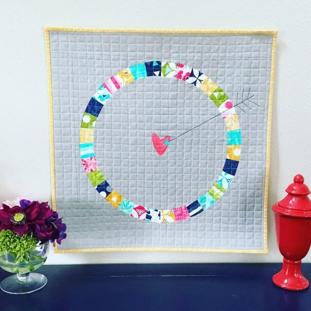 Lovestruck Mini Quilt with HeatnBond Lite