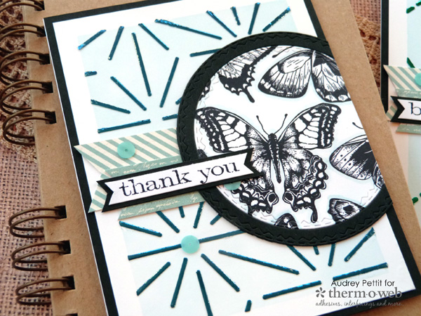 Spring Butterfly Cards with Deco Foil Designer Stencils