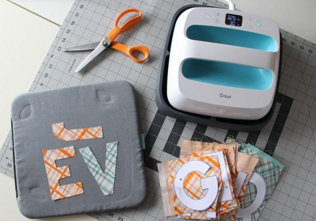 Heat N Bond Ultra No Sew Fabric Letters