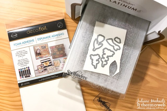 Adding Dimension with Waffleflower Stamps and Therm O Web Foam Adhesive