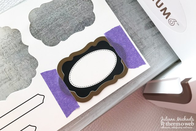 Die Cutting with Therm O Web Purple Tape