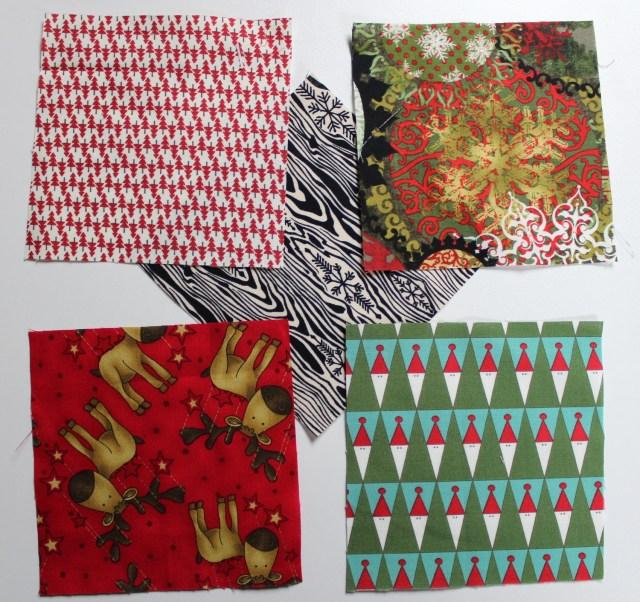 Pinwheel Fabric Coasters