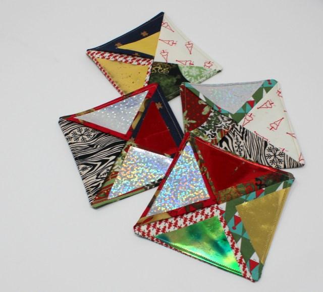 DecoFoil Pinwheel Quick Coasters