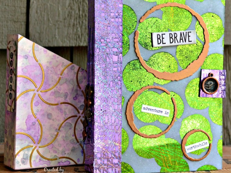 Be Brave Art Journal