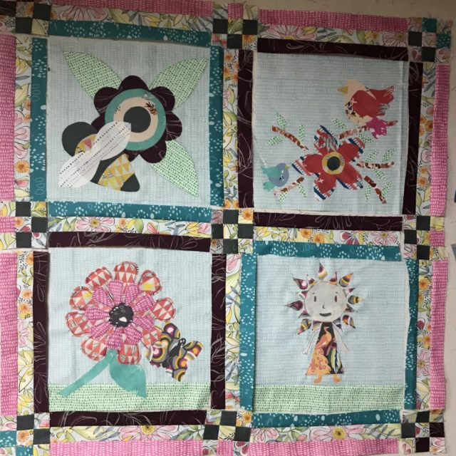 Mini Quilt Layout