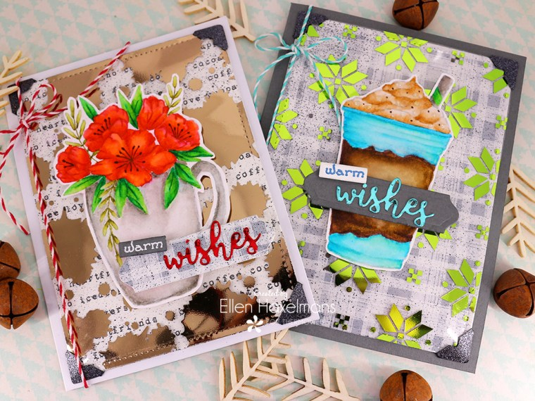 Warm Wishes Cards with Deco Foil