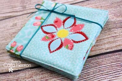 Spring Fabric Coasters
