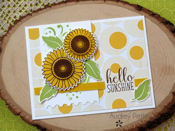 Sending Sunshine Card with Gina K.