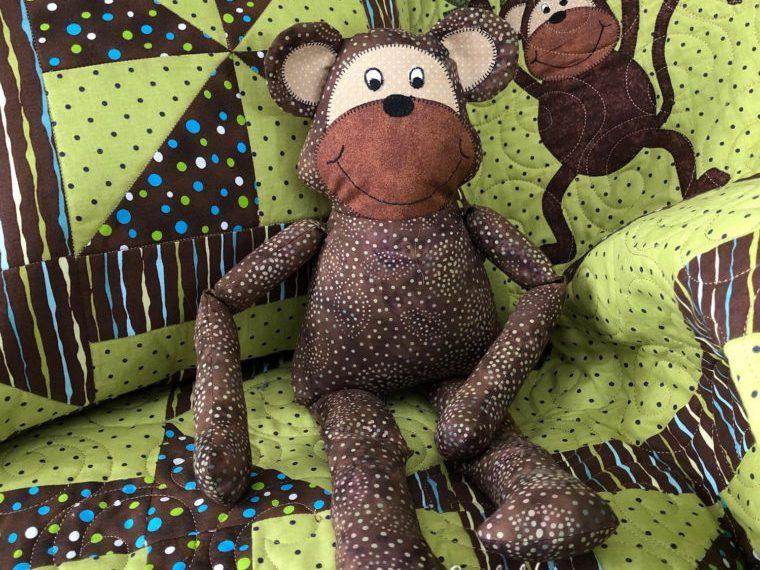 Monkey Stuffy