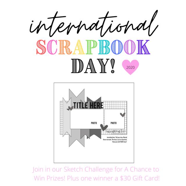 interNational Scrapbook Day 2020