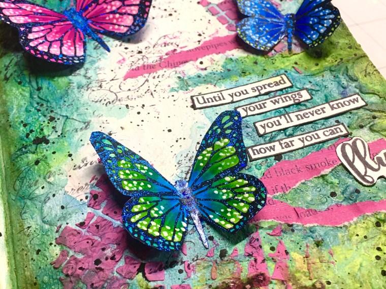 Spread Your Wings Butterfly Journal
