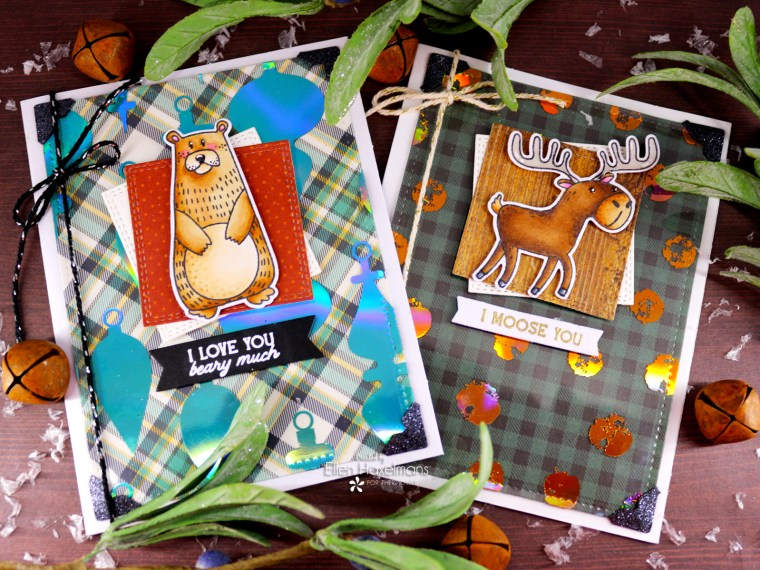 Fall Cards with Deco Foil