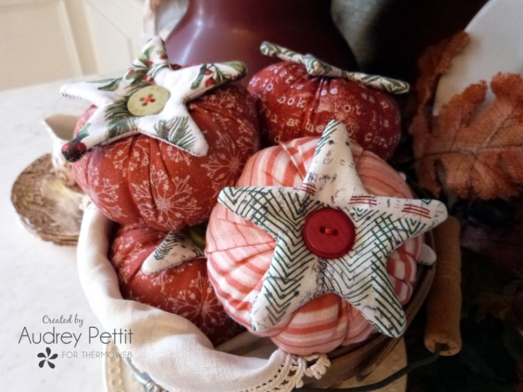 Fabric Tomato Pin Cushions