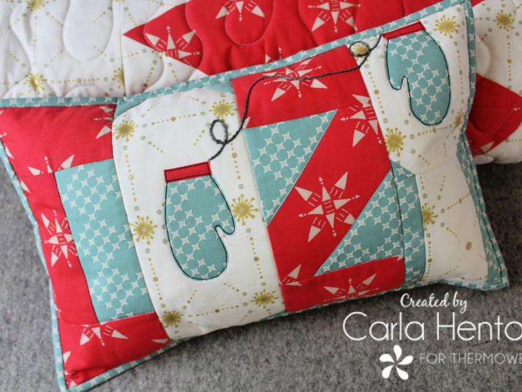Cozy Holiday Pillow Cover