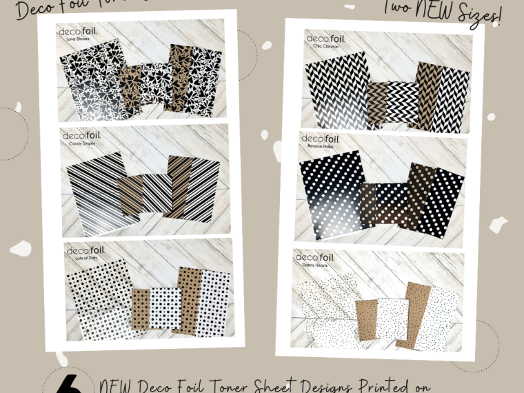 Deco Foil Toner Sheets