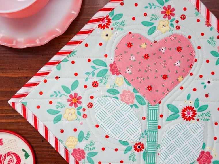 Valentine Heart Hot Pad