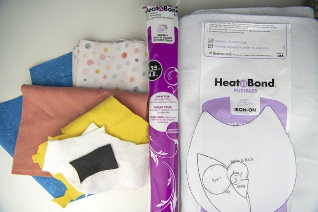 owl softie supplies