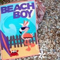 Beach Boy Flamingo Quilt with StitchnSew Sew-In Fleece