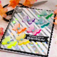 Flock and Foil Cards with Newton's Nook and Deco Foil