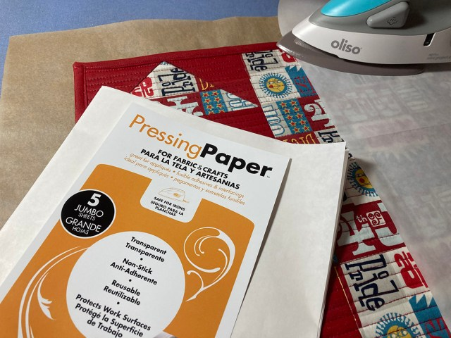 pressing placemat