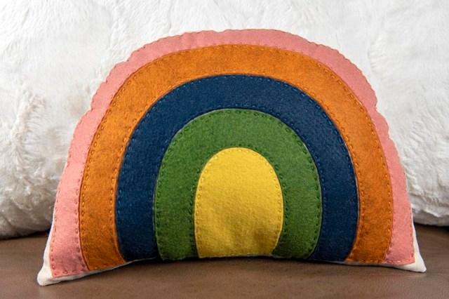 rainbow softie pattern