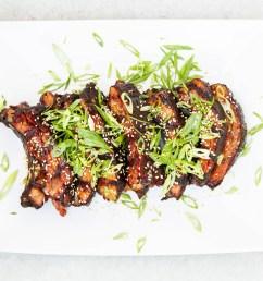 smoked asian style sticky ribs [ 5184 x 3456 Pixel ]