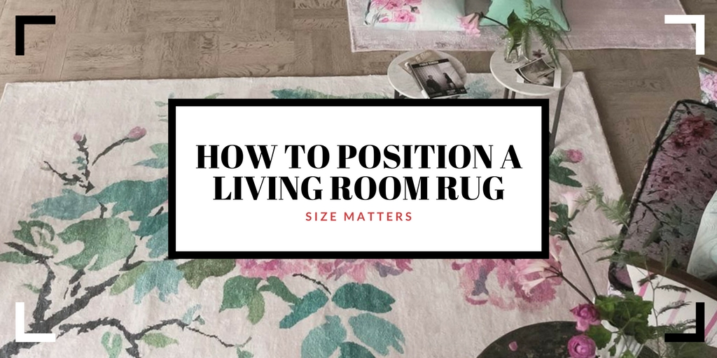 How To Position A Living Room Rug Size Shape Matter