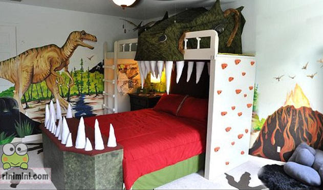 Childrens Dinosaur Bed Buy Clothes Shoes Online