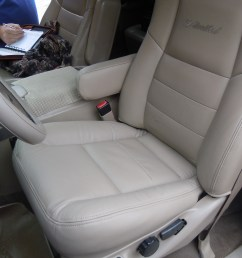 again this is the oem seat top with a new leather replacement cover from the seat shop our covers do not slip on over the seat covers  [ 4320 x 3240 Pixel ]