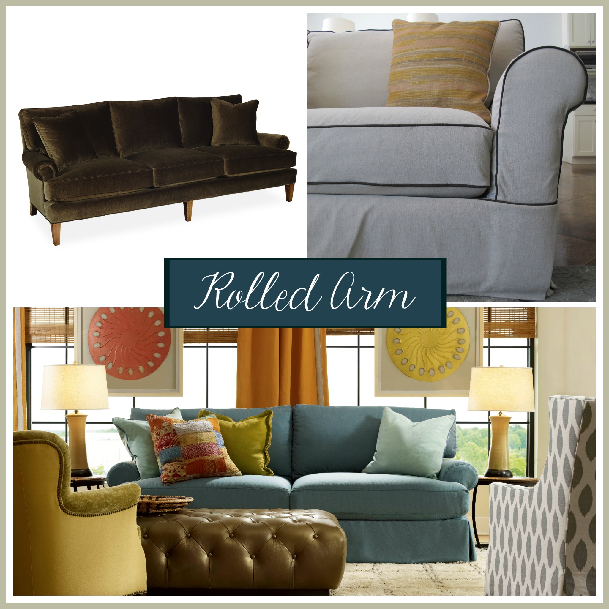 sofa arm bed inoac review styles picking the perfect one stated home style rolled