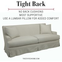 How Sofa Back Cushions Affect Your Comfort | The Stated Home