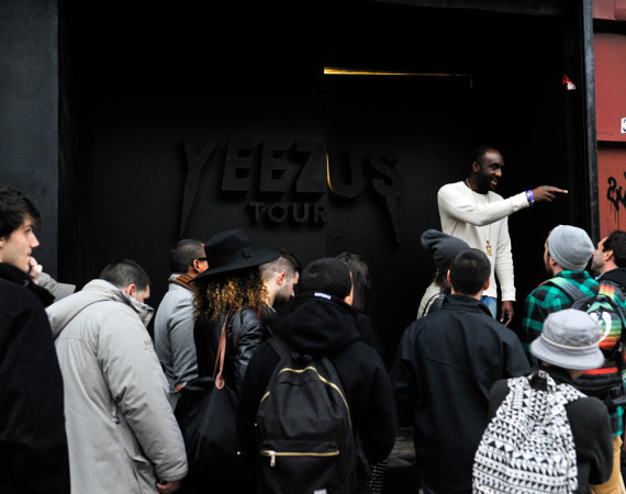 Kanye West Yeezus Tour Pop-Up Store in NYC 2